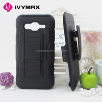 hard pc, silicone covers for Samsung J5 robot mobile phone case