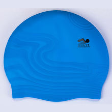 Logo Printed High Quality Customzied Silicone Swim Caps