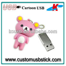 Bear cartoon anime usb flash drive 1gb