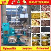 Screw press type cooking oil making machine for home and commercial use