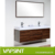 Manufacturer directly classic style hotel bathroom vanity