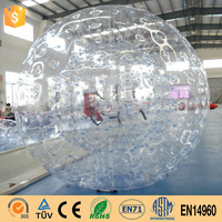 Factory Supply Can Be Ornamental Inflatable Bubble Ball Inflatable Bumper Ball