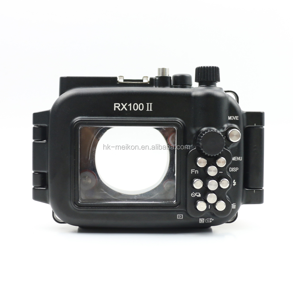 Meikon 100M Waterproof For Sony RX100 Mark II 2 Camera housing