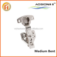 Stainless steel clip on hydraulic concealed hinge for cabinet