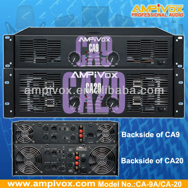 Professional High Power amplifier CA6 CA20