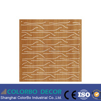 studio wooden acoustic panels,outdoor acoustic panel, acoustic perforated wall panel