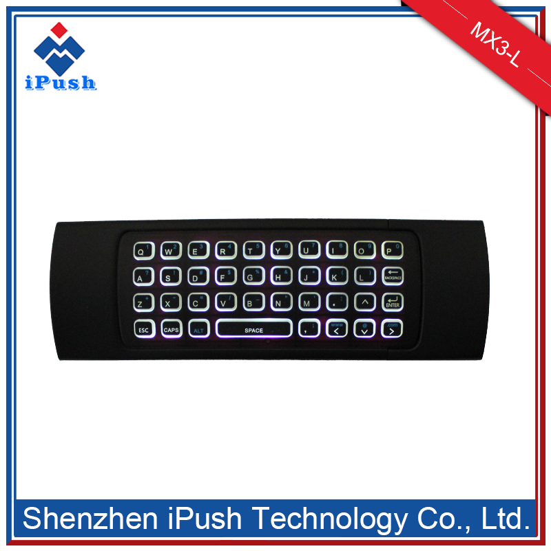 New product russian wireless keyboard for android tv box MX3