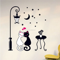 Self-adhesive and decorative wall mirror stickers