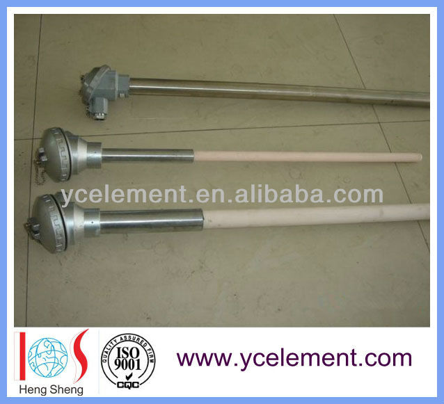 high temperature S/B/R type thermocouple ceramic probe