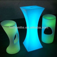 LED outdoor furniture/LED bar table