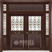 FERFORJEFUL BUILDING ENTRY STEEL DOOR