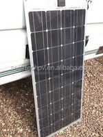 HIGH EFFICIENCY 100W MONO solar panel TUV CE