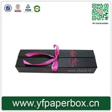 wholesale customized packing hair weave human hair paper box