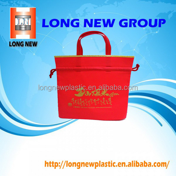 Accept OEM Cosmetic Printing Reusable Gift Non Woven Shopping Bag