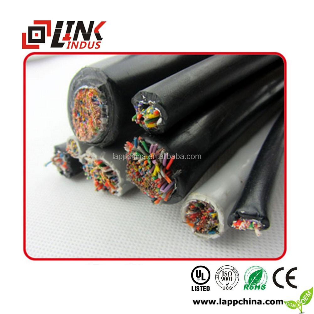 2016 high quality hot sale underground telephone cable 50-250pair jelly filled out door cable wire
