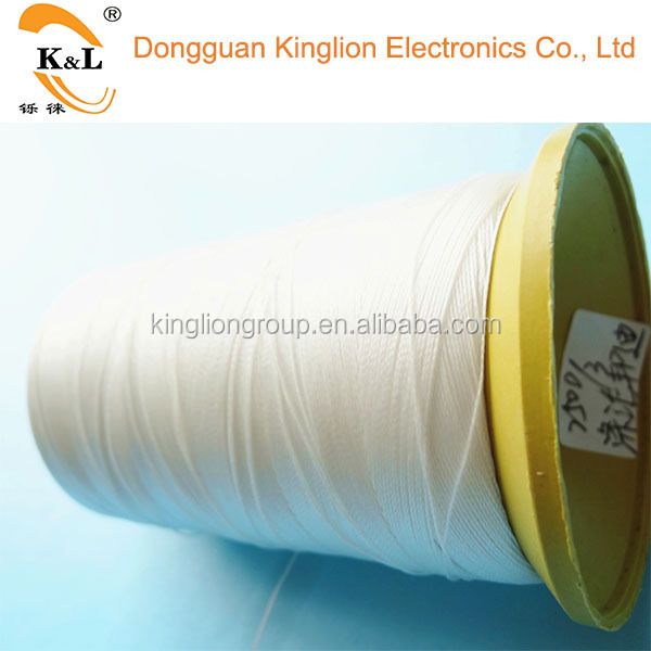 China manufacturer white color Nylon sewing thread