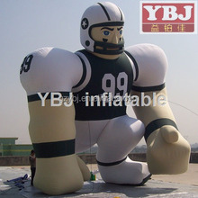 inflatable booter cartoon