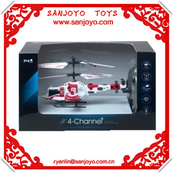 promotion best selling christmas gifts 2013 rc helicopter rc toys 4ch rc helicopter side flight function and LED