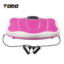 2016 Hot sell fitness equipment Ultrathin Body Slimmer Vibration Machine Plate Power Slimming Exercise Machine with bluetooth