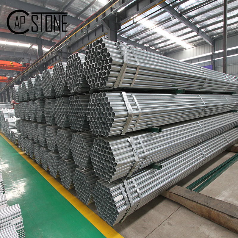 High quality galvanized steel pipe for oil gas water