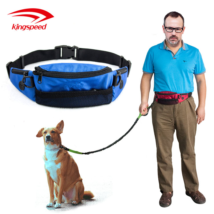 Pet Dog Puppy Waist Pouch Training Walking Belt Bag Treats Dispenser
