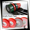 Top seller !!! Acrylic adhesive double sided foam tape
