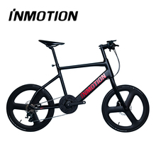 Electric bike with TORAY T700 carbon fiber wheel hub