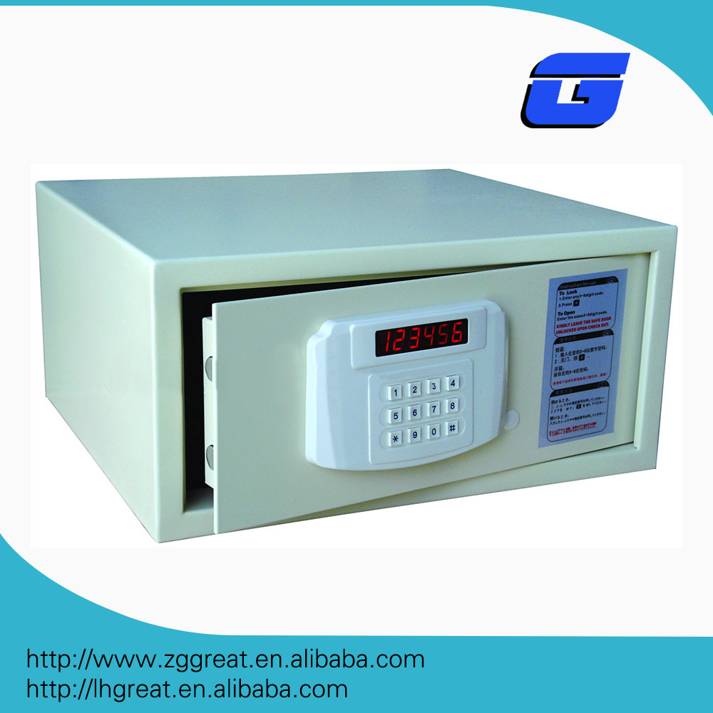 Best selling hotel room intelligent electronic safe /digital lock safe