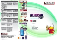 Aeromix Aerosol Spray Paint Colour Card 2015