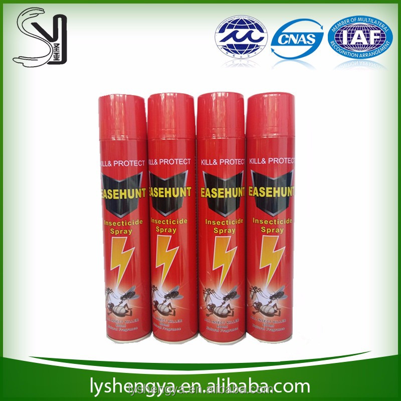 Alcohol based aerosol insecticide/mosquito insecticide/insect killer manufacture in china
