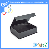 custom luxury leather paper portable wine carrier box
