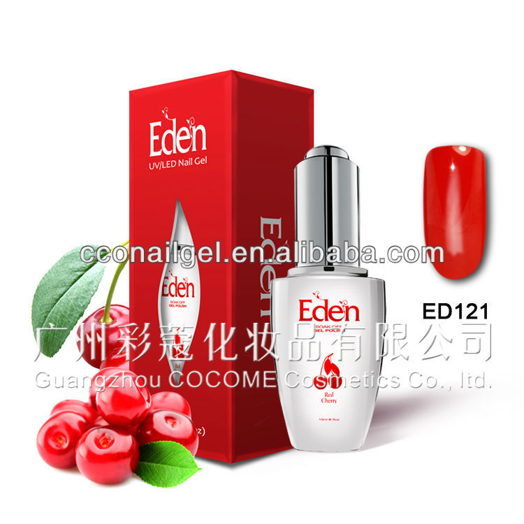 Eden Soak Off gel nail system