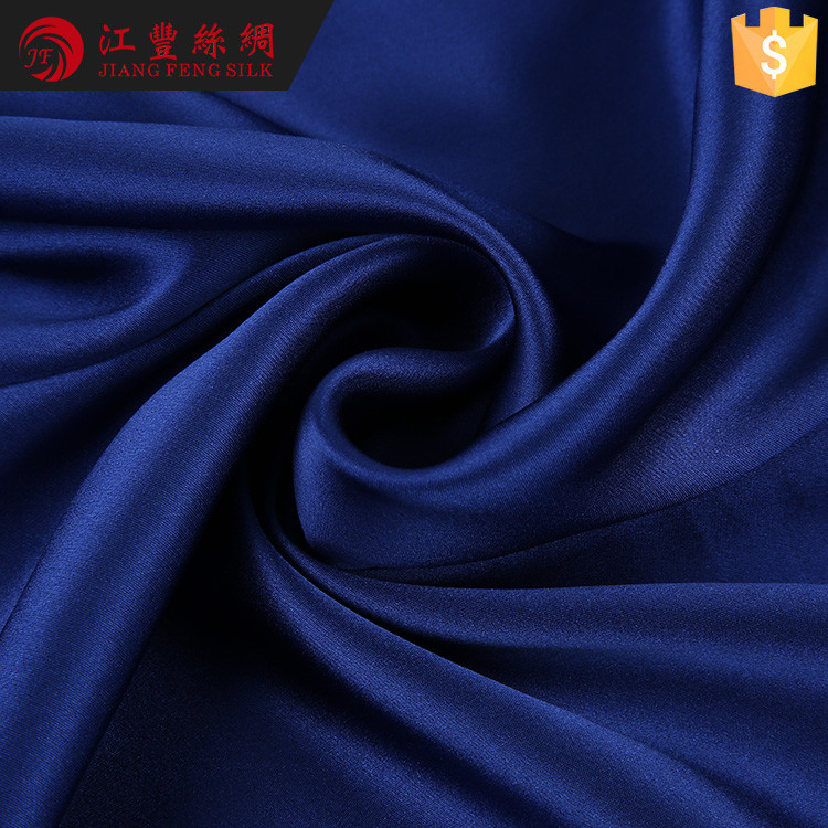 G1 Supply Type Style Crepe Satin Plain Silk Fabric For Bedding Set