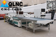 CNC router price /ATC ,Wood Furniture CNC Production Line 1325, woodworking cnc router with loading and unloading center