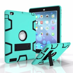 Dual Layer Armor Case for iPad 2 3 4 Kid Proof Rugged Tablet Case for 9 inch Tablet