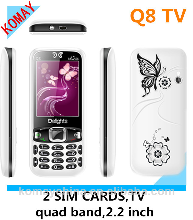KOMAY Chinese TV Q8 mobile phone
