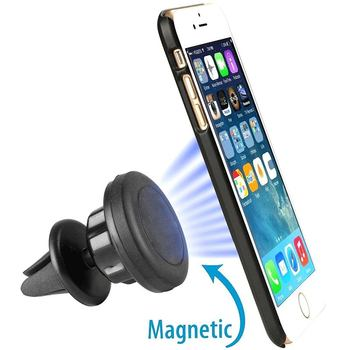 Shenzhen Manufacturer Universal Car Phone Holder Magnetic Air Vent Mount Stand 360 Degree Rotation Mobile Phone Car Holder