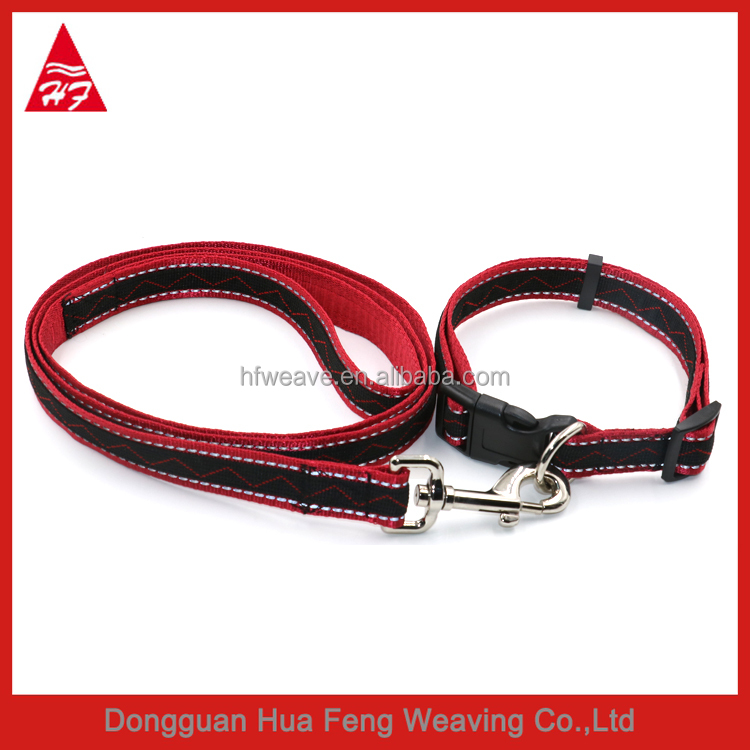 Hot sale jacquard Dog collar and leash
