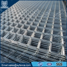 Black PVC Coated Hot Dipped Galvanized Welded Wire Mesh Sheet Panel for Agriculture Fencing Construction Concrete Reinforced