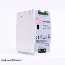 Original Meanwell Single Output Industrial DIN RAIL 120W 12V 10A Power Supply DR-120-12