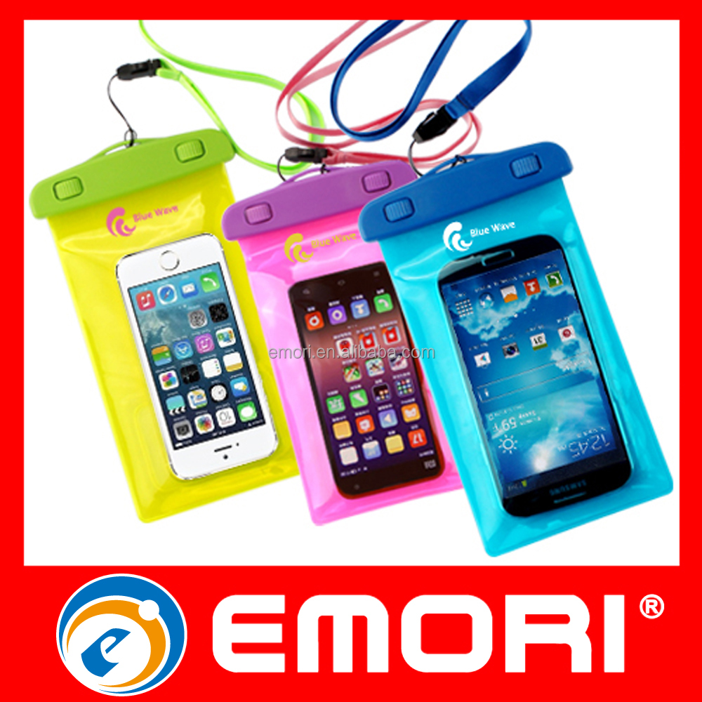 2016 Top sale multifunction colorful Waterproof Underwater phone bag