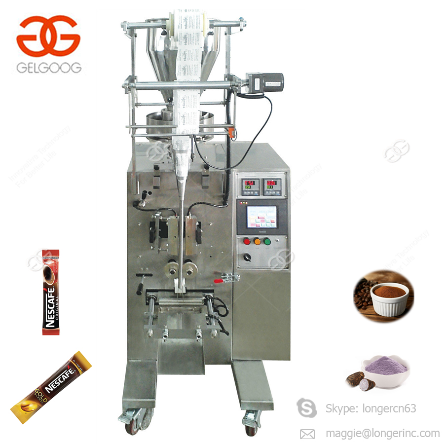 Automatic Instant Coffee Filling Sealing Packaging Protein Snus Cocoa Powder Condiment Pepper Sugar Sachet Packing Machine