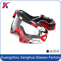 2016 New model super fashion windproof autocycle roll off autobike cross-country goggles