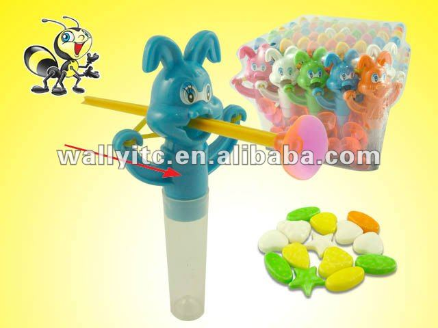 Bow Sword Rabbit Toy With Candy