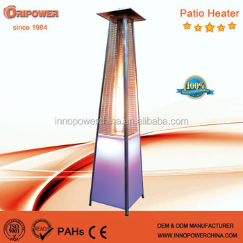 2016 led light tower gas patio heater patio heater lamps for Chauffage gaz exterieur terrasse