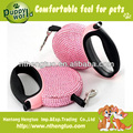 high quality retractable dog collar leash