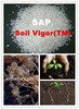 Soil Vigor (TM)super absorbent polymer(SAP) potassium based soil conditioner for agriculture use