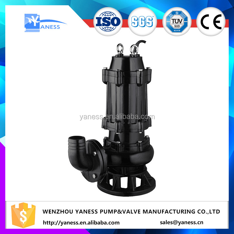 sewage pool 2 hp submersible water pump for sump