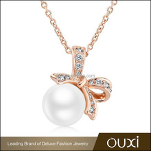 OUXI New arrival Mother's Day best design pearl necklace jewelry