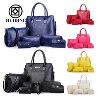2015 Bags Woman Designer Handbag Set Crocodile Bag Wholesale handbag Online Shop